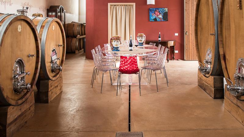 Ristorazione-Banqueting apertivo in cantina