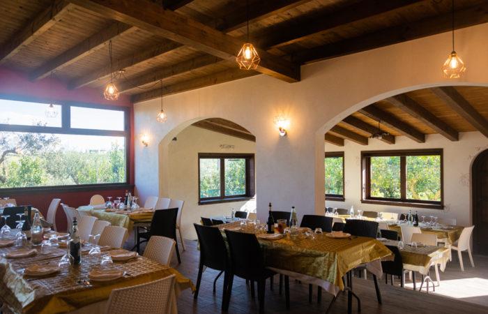 fattoria augustali sala ristorante