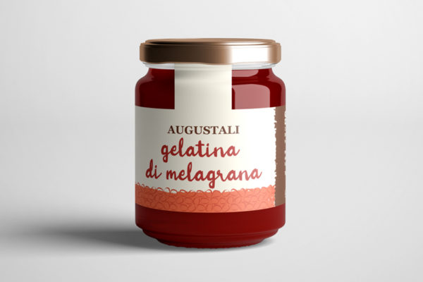 augustali produzione gelatina di melograno