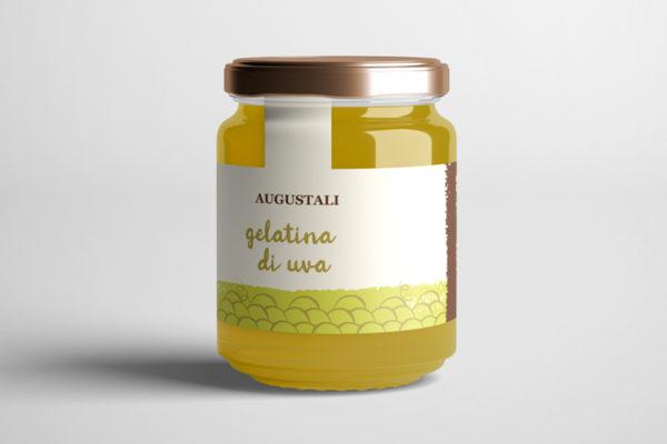 augustali produzione gelatina di uva